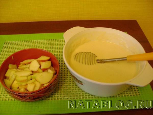 Яблоки для оладьев