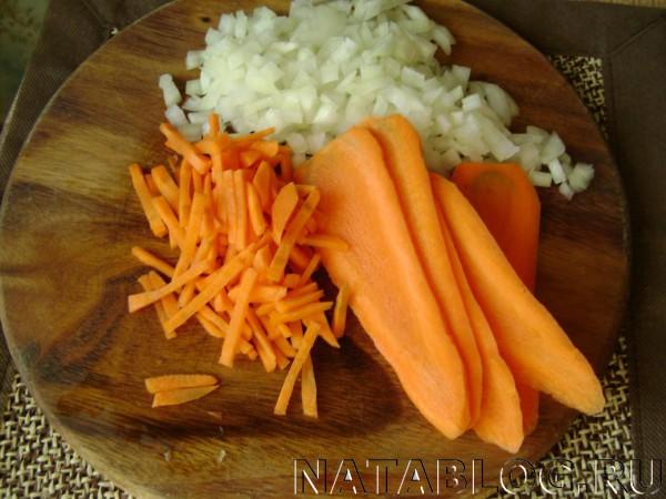 Шинкуем морковь