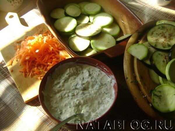 Овощи с морковью