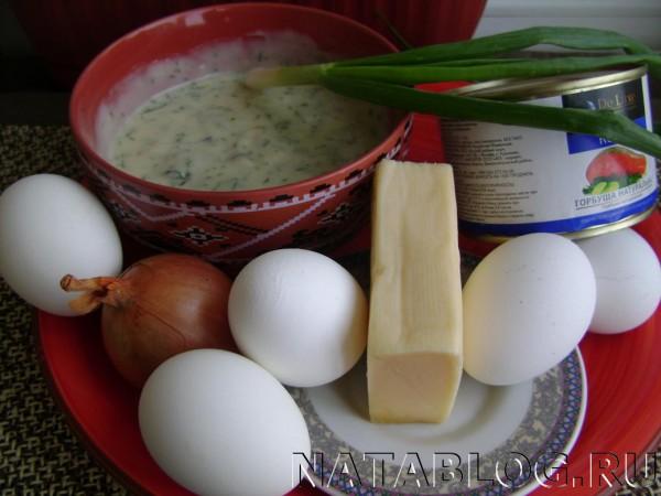 Продукты для салата
