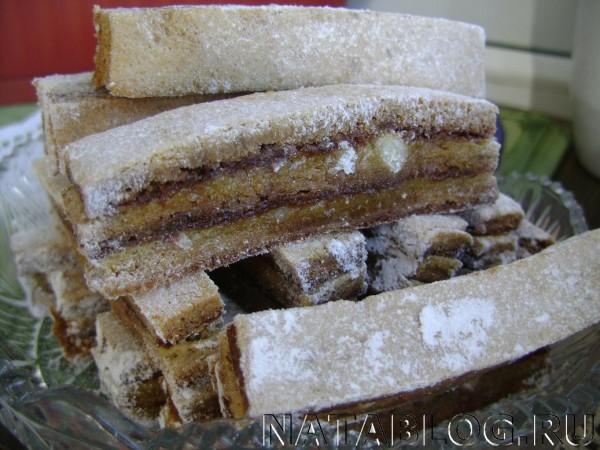 Пастила в сахарной пудре