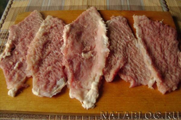 Мясо - отбить