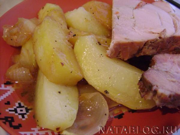 Картофель с бужениной
